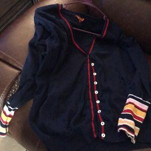 Gorgeous Navy Modcloth cardigan! 4X